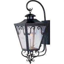 Exterior lighting fixtures j britt lighting interiors maxim 39994cloi cordoba gas outdoor wall mount aloadofball Gallery
