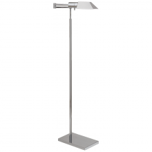 Visual Comfort 81134 PN - Studio Swing Arm Floor Lamp in Polished Nickel