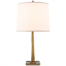 Visual Comfort BBL 3024SB-S - Petal Desk Lamp in Soft Brass with Bronze Mirror