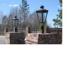 Pier mount lights exterior lighting fixtures j britt lighting j britt lighting interiors items bilm sp t medium biloxi copper medium biloxi copper lantern steel post mount mozeypictures Gallery