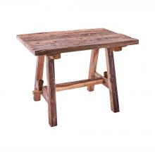 ELK Lifestyle TABLE024 - Rustic Table with Bench