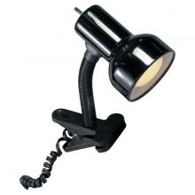 Nuvo SF76/226 - Black Clip On Goose Neck Lamp